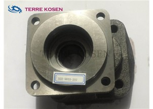 P365 pump spare parts 322-5033-202 shaft end cover