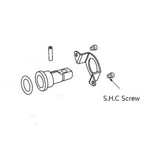 101/102 series pump spare parts 391-1402-063 S.H.C. screw
