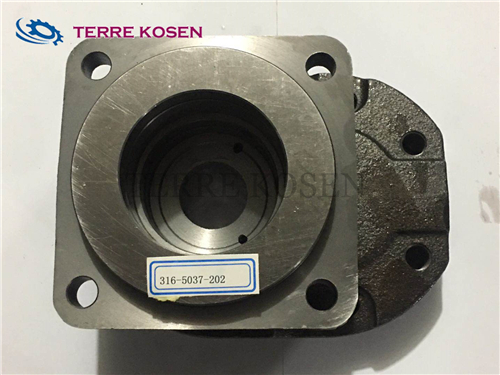 P51 pump spare parts 313-3120-100 port end cover